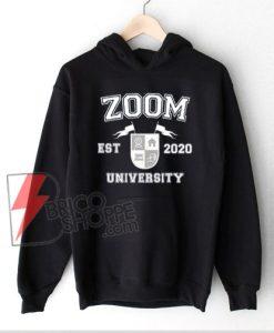 Zoom University Hoodie, Social Distancing Hoodie, Online School, Home Schooling, Class of 2020 Hoodie, Graduation Gift, Gift for Teacher
