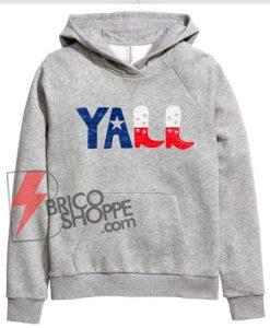 vintage YALL Hoodie - Funny Hoodie On Sale