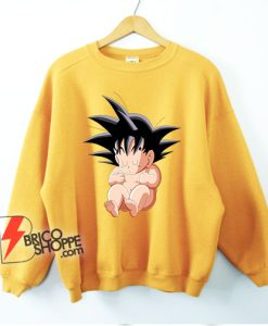 Baby Sungoku Sweatshirt - Dragon Ball Sweatshirt - Funny Sweatshirt On Sale