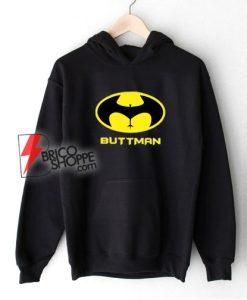 Buttman Funny Batman Hoodie – Batman Hoodie – Parody Hoodie