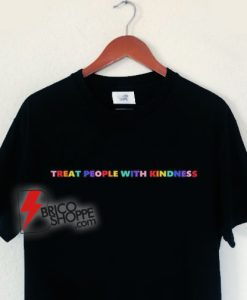 Harry Styles Rainbow T-shirt - Summer TREAT PEOPLE WITH KINDNESS Funny Clothes