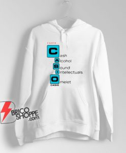 I love Casio Cash Alcohol Sound Intellectuals Omelet Hoodie - Parody Hoodie - Funny Hoodie On Sale