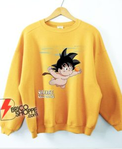 Parody Songoku Nevermind Sweatshirt - Funny Dragon Ball Z Sweatshirt - Parody Sweatshirt