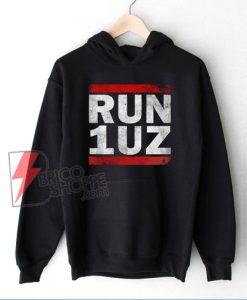 RUN 1UZ Hoodie - Funny Hoodie On Sale