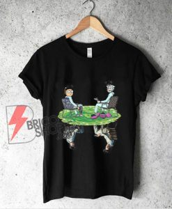 Rick and Morty Crossover Walter Jesse Breaking Bad Shirt - Shirt On Sale