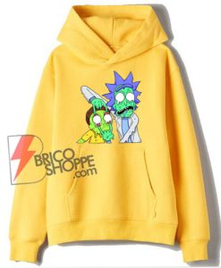 Rick and Morty Zombie Hoodie – Funny Rick and Morty Hoodie