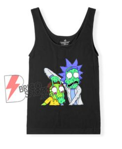 Rick and Morty Zombie Tank Top - Funny Rick and Morty Tank Top