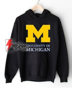 University of Michigan Hoodie – University of Michigan Clothing – University of Michigan Apparel