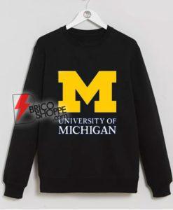 University of Michigan Sweatshirt – University of Michigan Clothing – University of Michigan Apparel