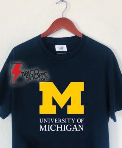 University of Michigan T-Shirt - University of Michigan Clothing - University of Michigan Apparel