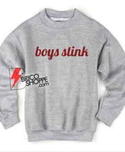 boys stink Sweatshirt - Funny Sweatshirt