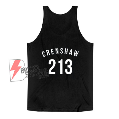 213 Crenshaw LA Tank Top – Funny Tank Top On Sale