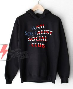 Anti Socialist Social Club Hoodie – Funny Hoodie on Sale