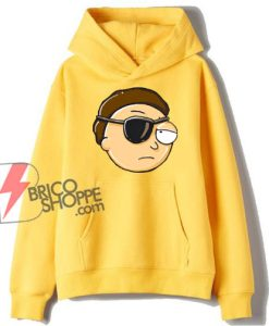 Evil Morty from Rick and Morty Hoodie – Parody Rick Morty Hoodie – Funny Hoodie On Sale