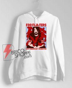 Foo fighters 20th anniversary celebration Hoodie – Funny Hoodie On Sale