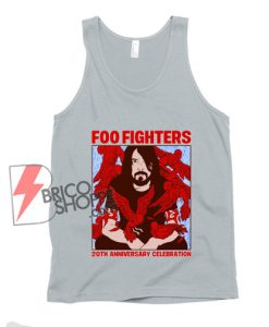 Foo fighters 20th anniversary celebration Tank Top - Funny Tank Top