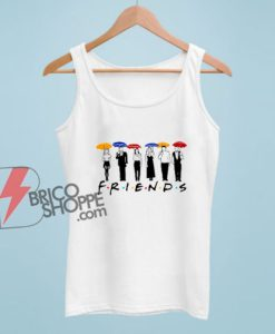 Friends Umbrella Tv Series Movie Tank Top - Funny Tank Top On Sale