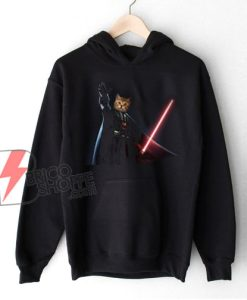 Funny Cat Darth Vader Star Wars Hoodie – Funny Hoodie On Sale