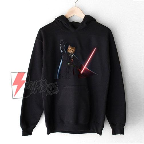 Funny Cat Darth Vader Star Wars Hoodie – Funny Hoodie On Sale