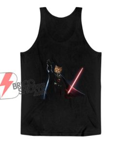 Funny Cat Darth Vader Star Wars Tank Top - Funny Tank Top