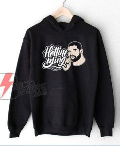 Hotline Bling Drake Band Hoodie - Funny Hoodie On Sale