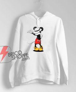 Mickey Mouse MJ Michael Jackson Hoodie – Parody Hoodie – Funny Disney Hoodie