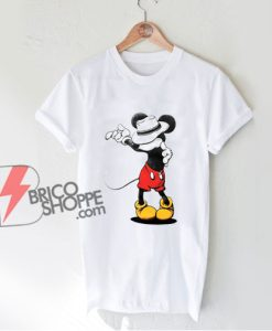 Mickey Mouse MJ Michael Jackson T-Shirt - Parody Shirt - Funny Disney Shirt