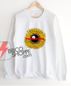 Paramore Sunflower Sweatshirt - Funny Sweatshirt On Sale