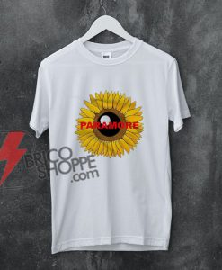 Paramore Sunflower T-Shirt - Funny Shirt On Sale