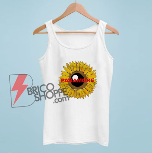 Paramore Sunflower Tank Top - Funny Tank Top On Sale