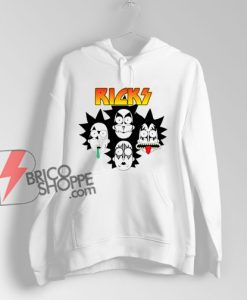 Rick And Morty Parody Kiss Band Hoodie - Funny Hoodie On Sale