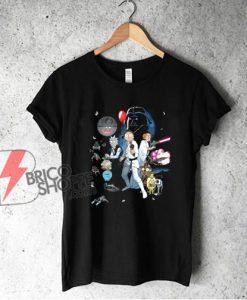 Rick and Morty star wars Shirt - Funny T-Shirt
