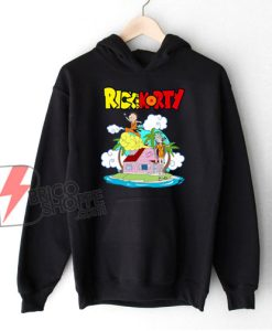 Rick and Morty x Dragon Ball Z Hoodie – Parody Hoodie – Funny Hoodie
