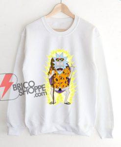 Rick and Morty x Dragon Ball Z Sweatshirt - Funny Sweatshirt On Sale