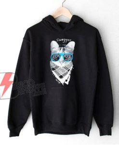 Swagger Cat Hoodie - Funny Hoodie On Sale