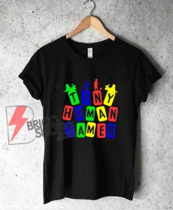 Tiny Human Tamer RGB Color Shirt - Funny T-Shirt On Sale