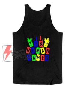 Tiny Human Tamer RGB Color Tank Top - Funny Tank Top On Sale