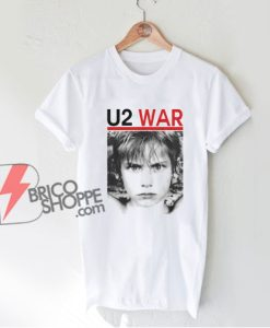 U2 War Band T-Shirt - Funny Shirt On Sale