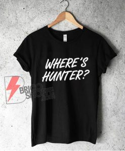 Where's Hunter Biden Tank Top – Funny Tank Top
