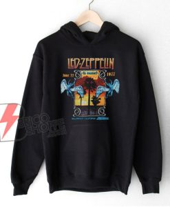 vintage Hoodie – Led Zeppelin In Concert Inglewood Hoodie – Funny Hoodie