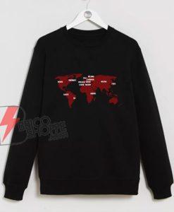 La Casa De Papel Sweatshirt - Funny Sweatshirt On Sale