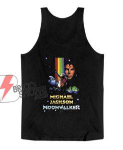 Michael Jackson moonwalker Tank Top – Parody Tank Top – Funny Tank Top On Sale