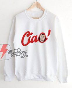 New Money Heist Sweatshirt The House Of Paper La Casa De Papel Sweatshirt - Funny Sweatshirt