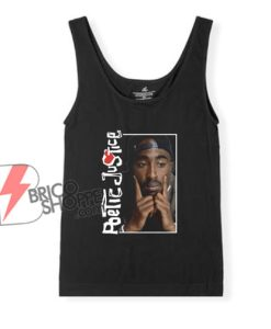 Poetic Justice In Deep Thought Poster Tank Top - Funny Tank Top