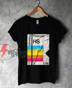Polaroid HS E-195 T-Shirt - Vintage Polaroid Shirt - Funny Shirt On Sale
