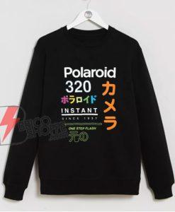 Polaroid Sweatshirt - Vintage Polaroid 320 Since 1937 Sweatshirt - Vintage Sweatshirt
