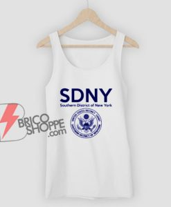 SDNY Tank Top - Southern District of New York Tank Top - Funny Tank Top On Sale