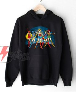 Sailor moon – Justice Moon Hoodie – Funny Hoodie On Sale