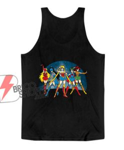 Sailor moon – Justice Moon Tank Top – Funny Tank Top On Sale