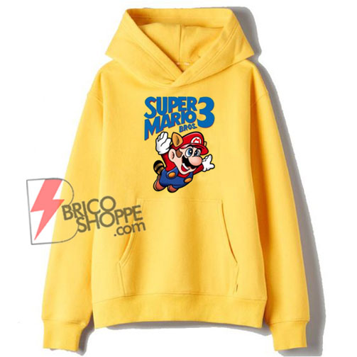 Super Mario Bros Hoodie - Funny Hoodie On Sale